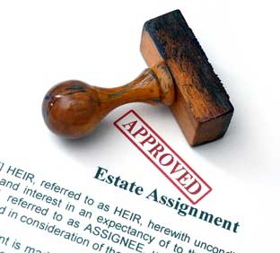 tracing of heirs to intestate estates